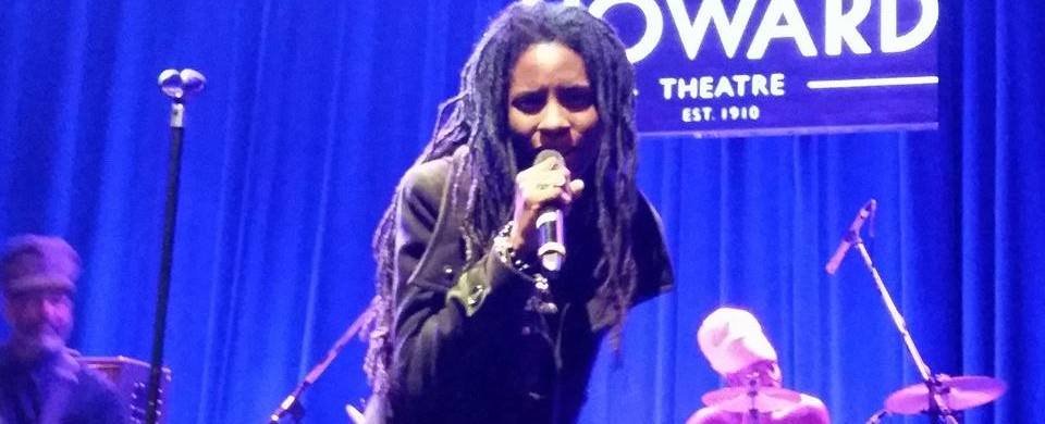 Jah9 Performing at The Howard Theater in Washington DC  02.05.2015 - Photo Courtesy of Empress Skortcher